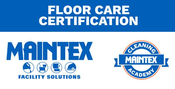 Floor Care Certification Image