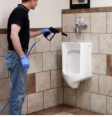 Spraying Urinals with touch Free System