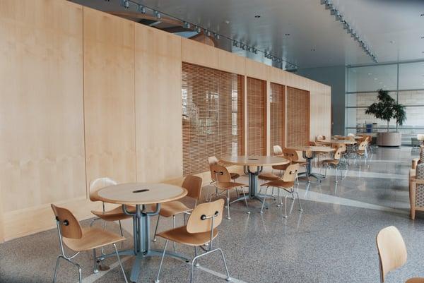 Cafeteria with Shiny Floors - By Aubrey-Odom-1423245-Unsplash